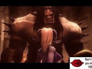 Gameplay - Warcraft orcs clan punish elf w boobs【FREEHGAME.COM】
