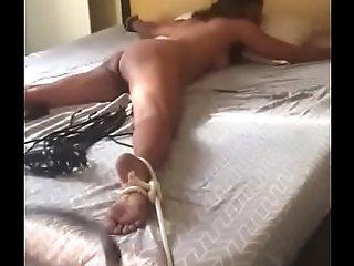 Desi BDSM whipping bhabhi in ass hot