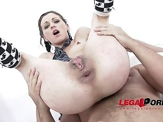 Kate Black 0% pussy: slut loves only anal fucking SZ952